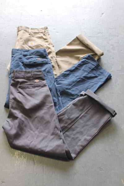 20 x Dickies and Carhartt Trousers