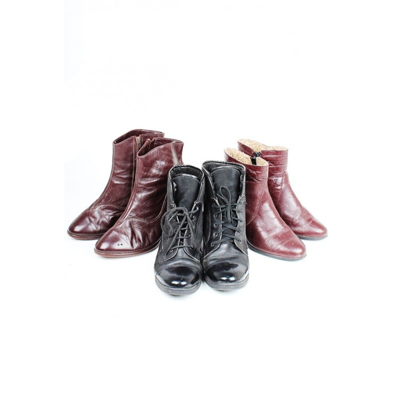 100 x Vintage Ankle Boots