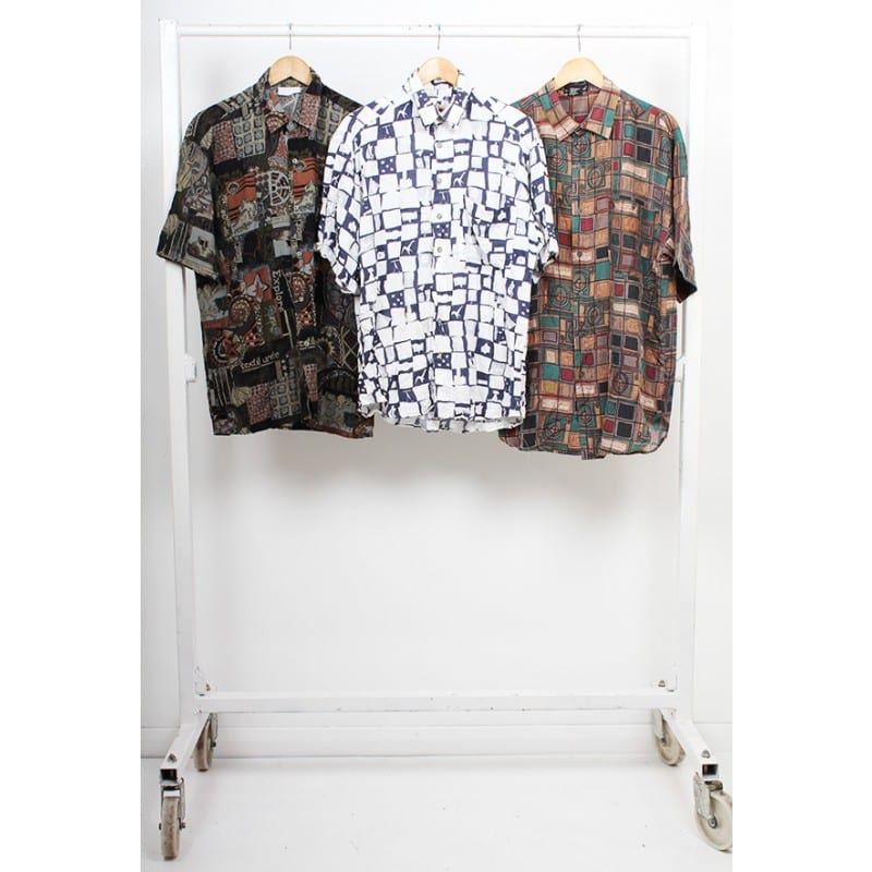 Vintage Crazy Pattern Shirts