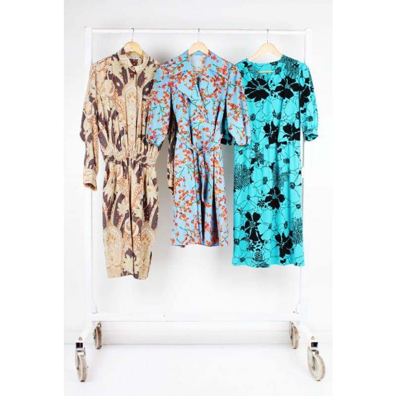 250 x Vintage 1960s – 1990s Dress Mix