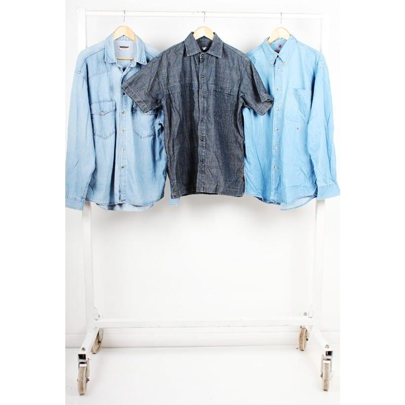 Vintage Unbranded Denim Shirts £7.00 per kilogram