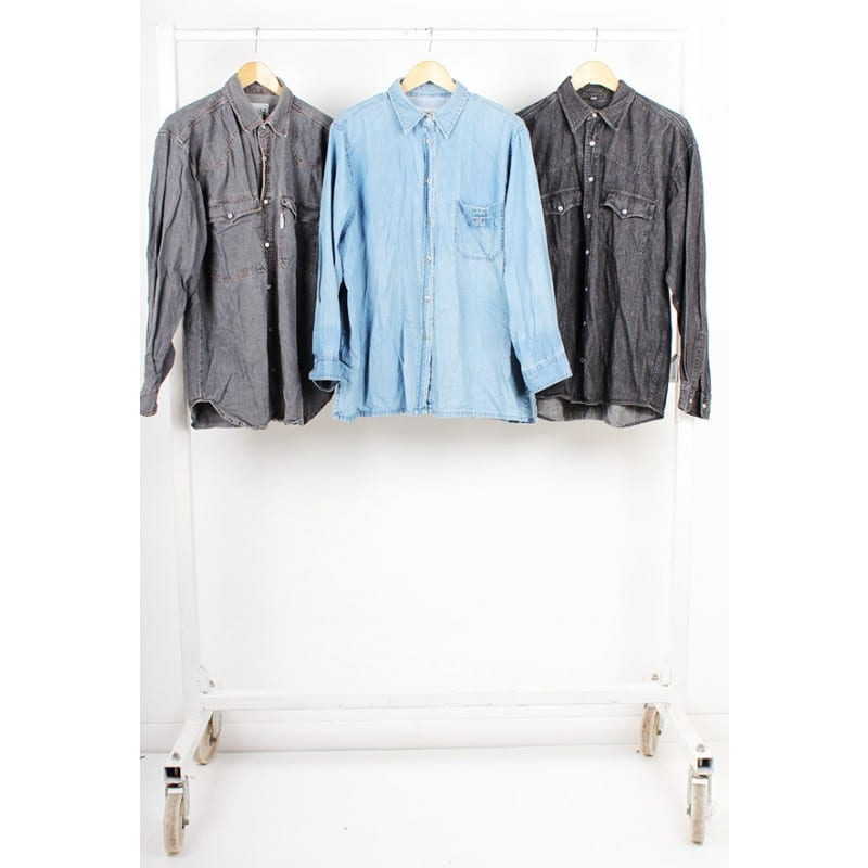 Vintage Unbranded Denim Shirts