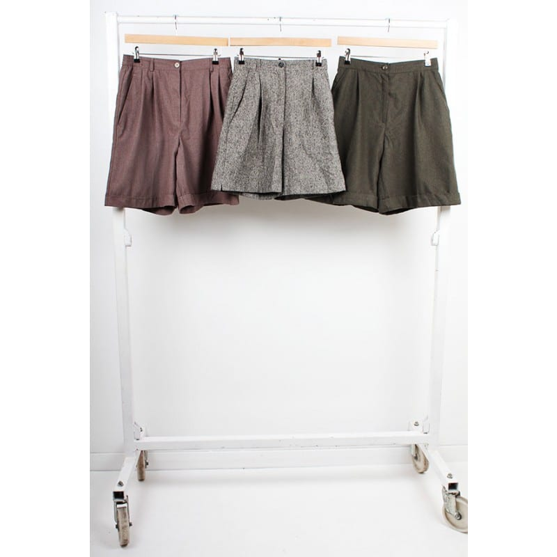 Vintage Wool Shorts