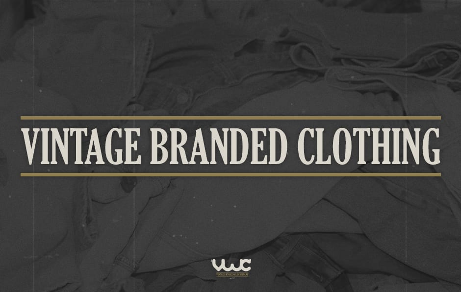 vintage branded clothing, vintage clothing