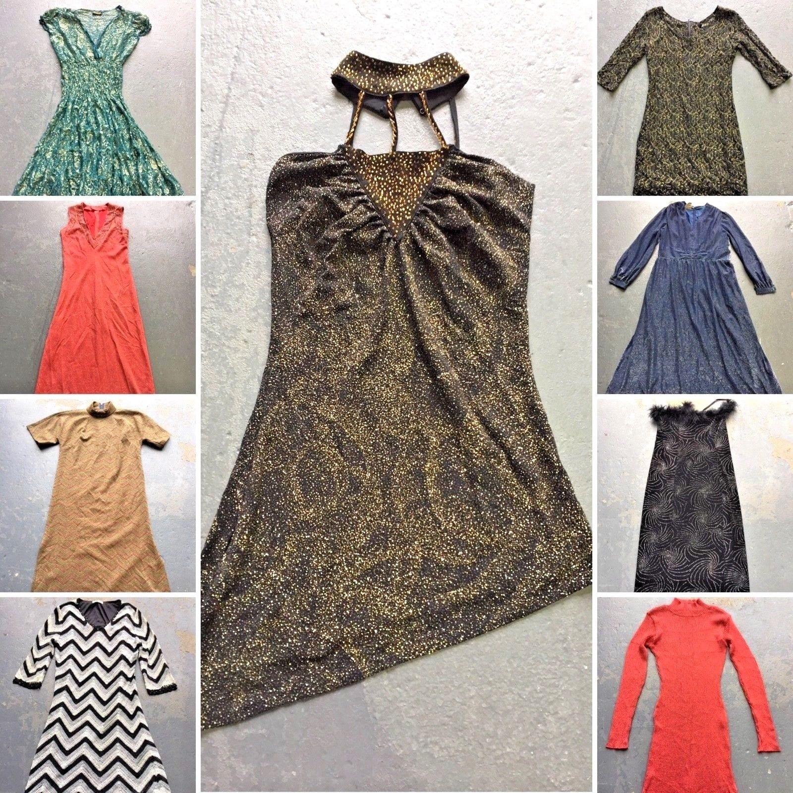 52329f25c0ddd Vintage Glitter Dress